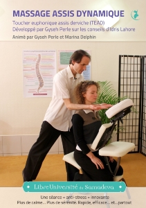 DVD Massage assis dynamique, Gyseh Perle, Marina Delphin